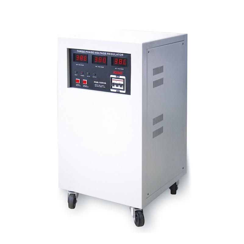 High Efficiency Servo Motor Type Three Phase Stabilizer PDR-10K/15K/20K/30KVA