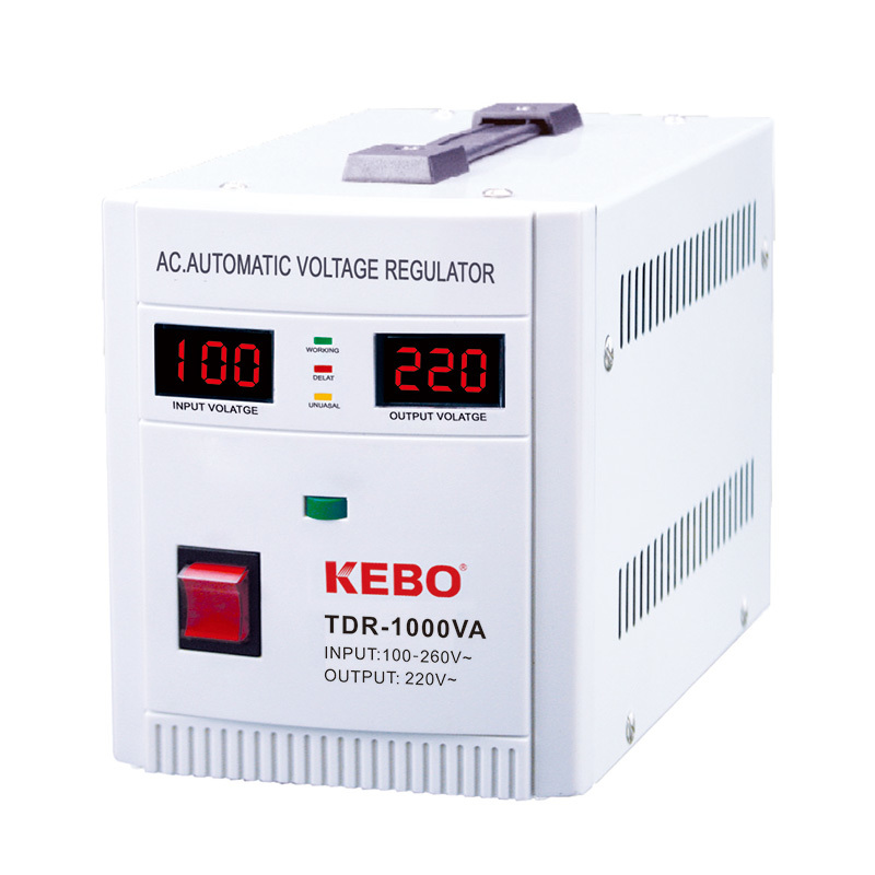 Industrial Single Phase Relay Type Automatic Regulator TDR Series from 0.5KVA to 20KVA