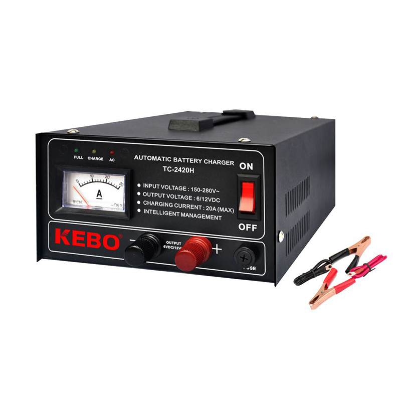 KEBO -Smart Battery Charger 3-steps High Frequency Automatic Battery Charger