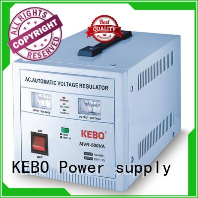 single phase servo voltage stabilizer wall series servo stabilizer advanced KEBO Brand