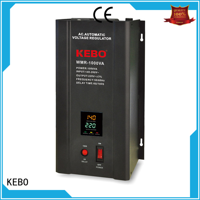 Hot wallmount single phase servo voltage stabilizer display KEBO Brand