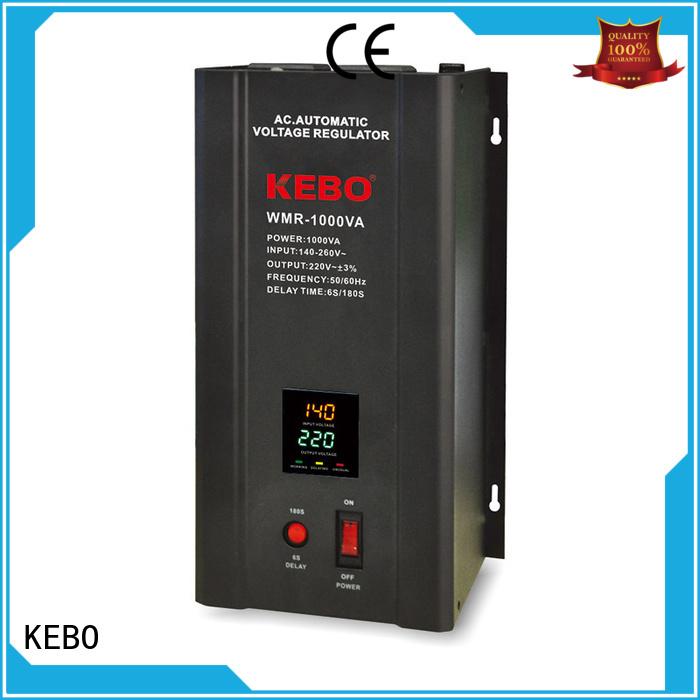 Hot wallmount single phase servo voltage stabilizer display KEBO Brand