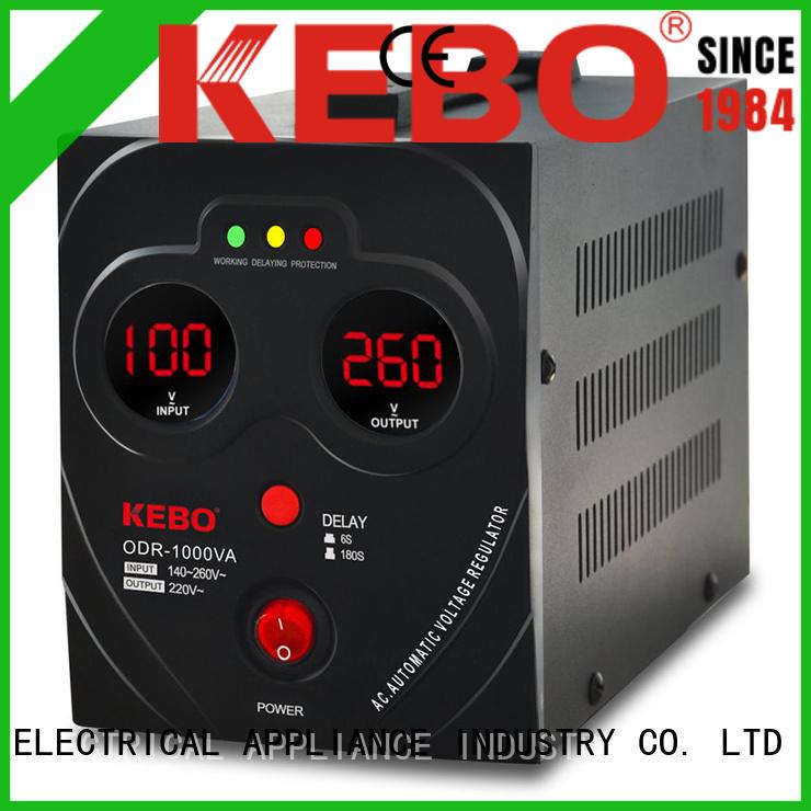Hot regulator voltage stabilizer for home single KEBO Brand