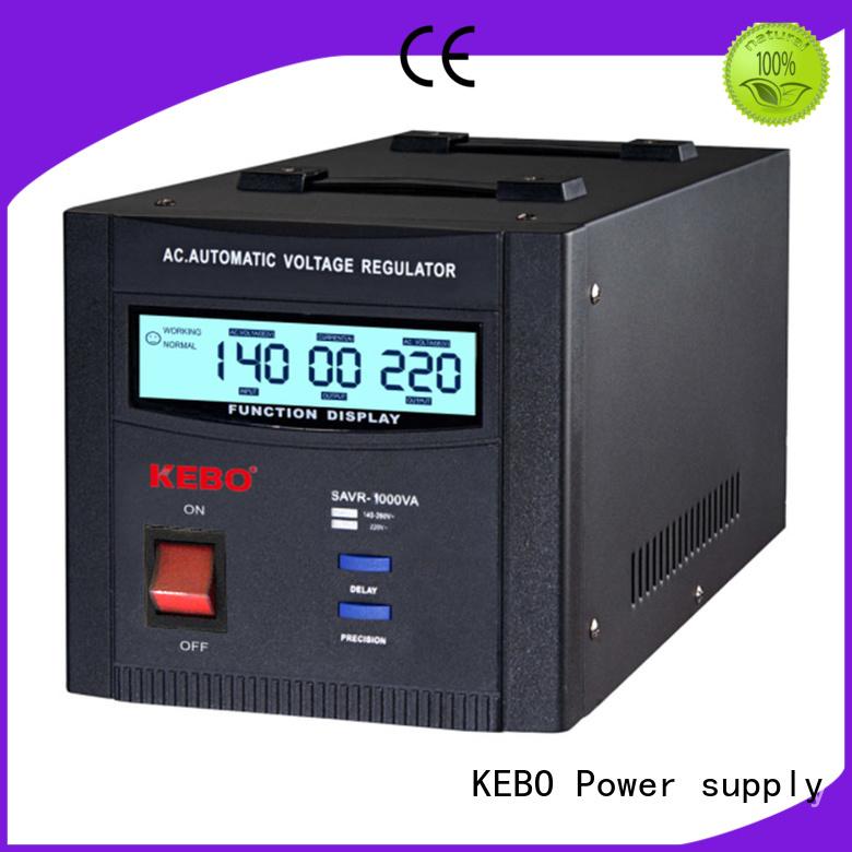 phase voltage servo stabilizer display KEBO Brand company