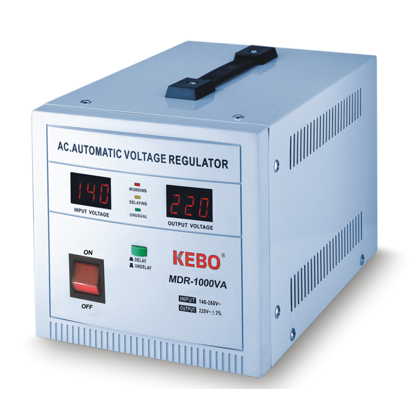 Servo Type Automatic Voltage Stabilizer MDR-0.5/1/1.5/2/3/5KVA with 3% High Precision