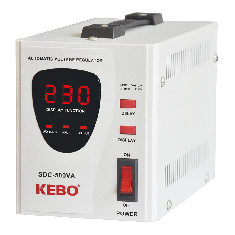 High Efficient AC Automatic Stabilizer SDC series with 3% High Precision Servo Transformer