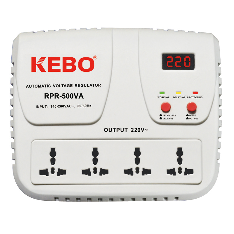 High Performance Relay Stabilizer RPR-500/1000VA with Output Voltage 220V/230V/240V