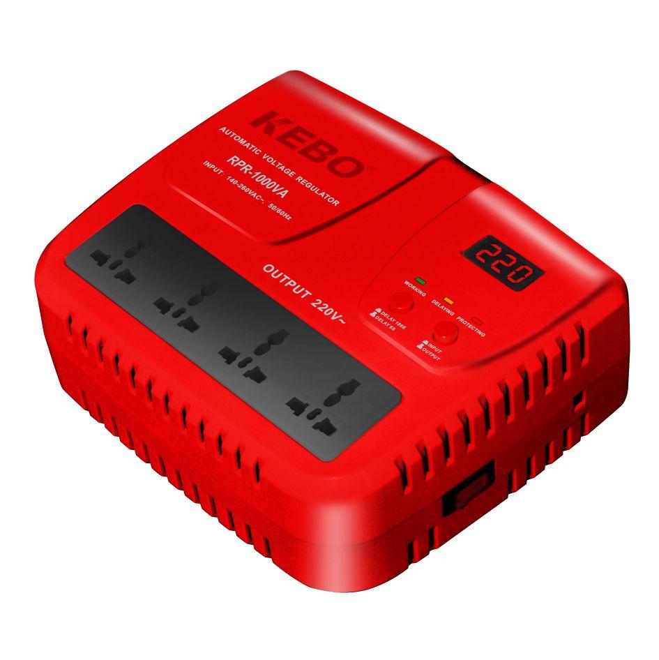 KEBO -High Performance Relay Stabilizer Rpr-5001000va With Output Voltage 220v230v240v-1