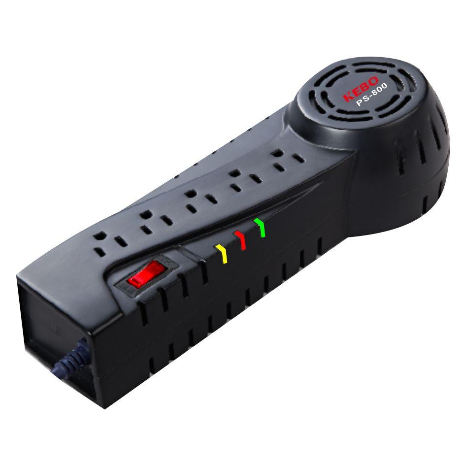 KEBO -Ac Stabilizer | Socket Type 110v120v Voltage Regulator Ps-6008001200-2