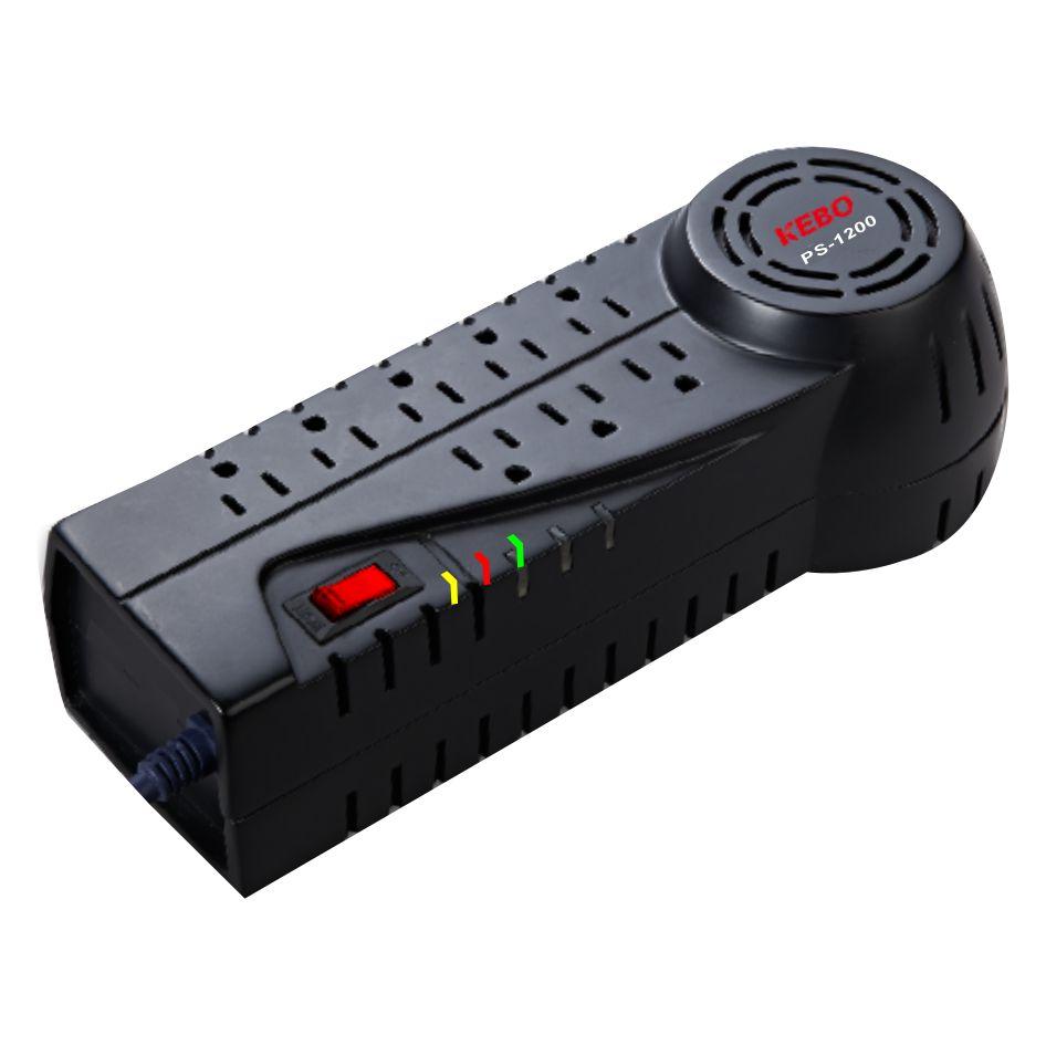 KEBO -Ac Stabilizer | Socket Type 110v120v Voltage Regulator Ps-6008001200-1