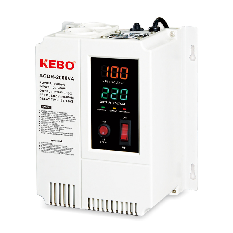 KEBO -Manufacturer Of Avr Regulator Wall Mounted Relay Type Acdr 05k-10kva Voltage-1