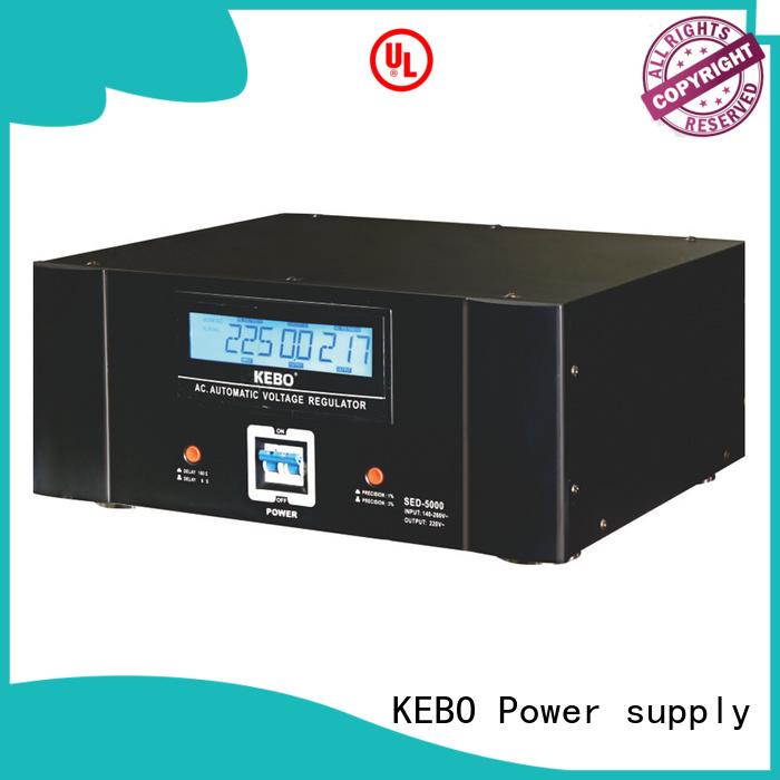 Wholesale automatic single phase servo voltage stabilizer KEBO Brand