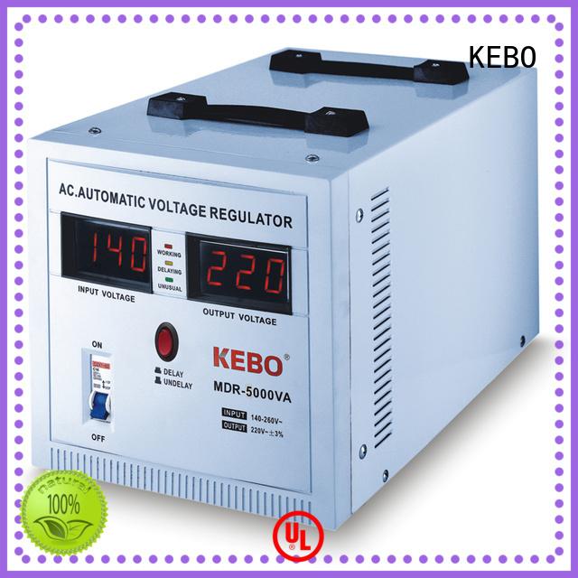 ultra series slim KEBO Brand single phase servo voltage stabilizer manufacture