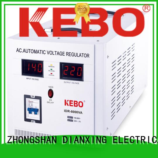 Custom mounted meter servo stabilizer KEBO voltage