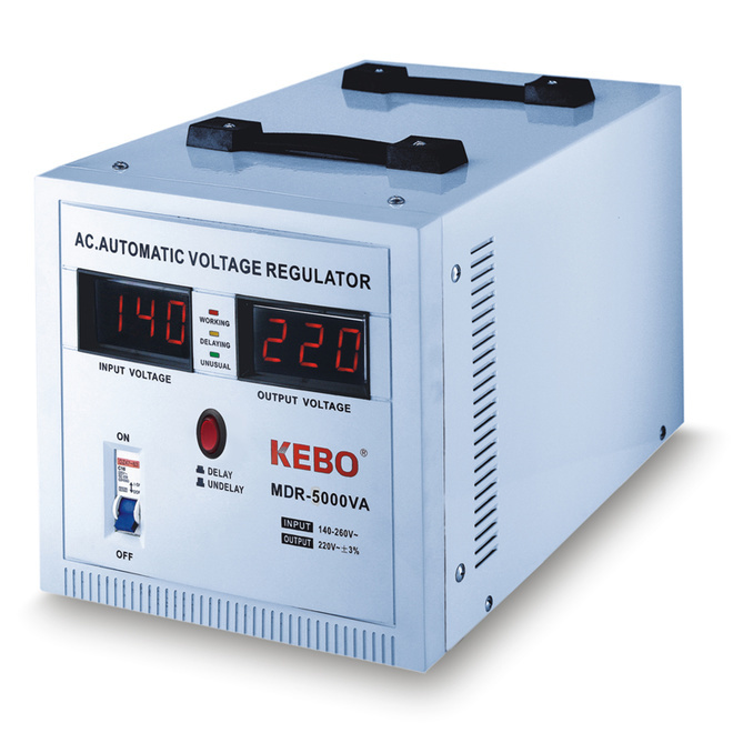 single phase servo voltage stabilizer ultra control KEBO Brand