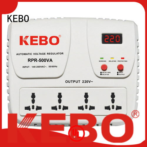KEBO Brand metal water phase voltage stabilizer for home
