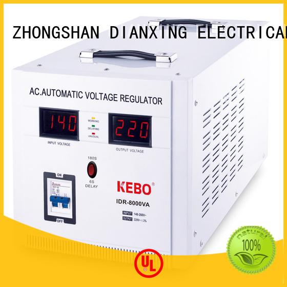 single phase servo voltage stabilizer phase voltage KEBO Brand servo stabilizer
